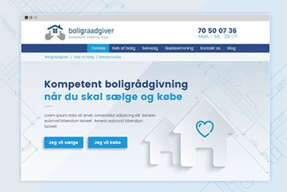 Website design og kodning